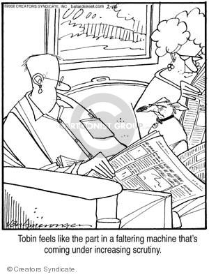 Comic Strip Jerry Van Amerongen  Ballard Street 2008-02-14 surveillance