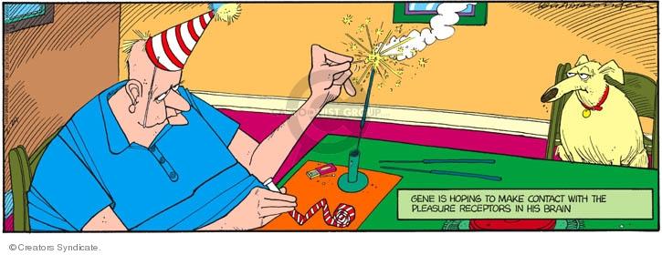 Comic Strip Jerry Van Amerongen  Ballard Street 2008-02-24 party