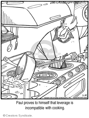 Comic Strip Jerry Van Amerongen  Ballard Street 2008-02-29 cooking