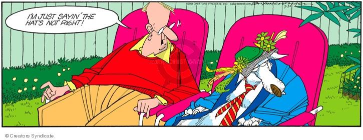 Comic Strip Jerry Van Amerongen  Ballard Street 2008-03-30 clothes