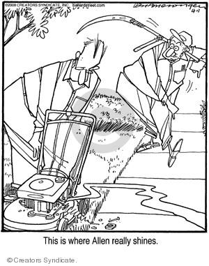 Comic Strip Jerry Van Amerongen  Ballard Street 2008-04-01 work