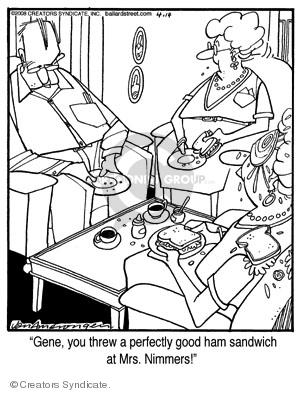 Comic Strip Jerry Van Amerongen  Ballard Street 2008-04-14 food