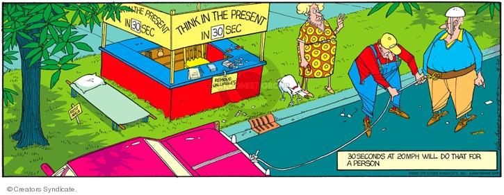 Comic Strip Jerry Van Amerongen  Ballard Street 2008-04-20 aware