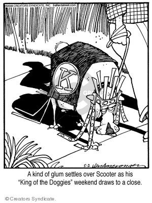 Comic Strip Jerry Van Amerongen  Ballard Street 2008-05-02 pretend