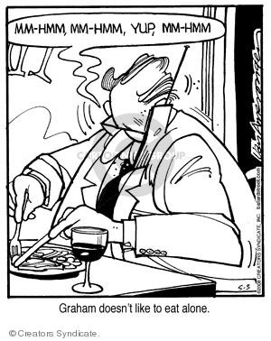 Comic Strip Jerry Van Amerongen  Ballard Street 2008-05-03 talk