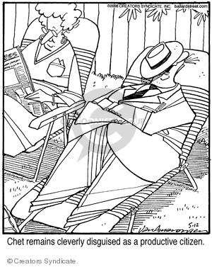 Comic Strip Jerry Van Amerongen  Ballard Street 2008-05-12 professional