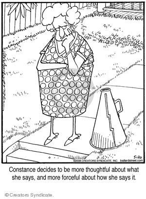 Cartoonist Jerry Van Amerongen  Ballard Street 2008-05-20 conversation