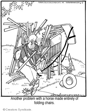Cartoonist Jerry Van Amerongen  Ballard Street 2008-06-09 design