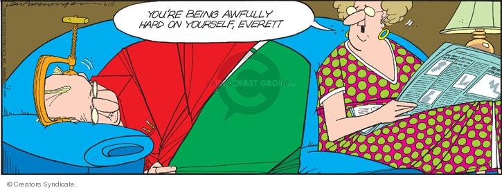 Comic Strip Jerry Van Amerongen  Ballard Street 2008-06-15 mental health