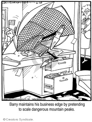 Comic Strip Jerry Van Amerongen  Ballard Street 2008-06-28 worker