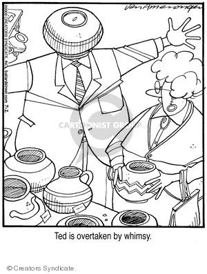 Comic Strip Jerry Van Amerongen  Ballard Street 2008-07-02 husband and wife