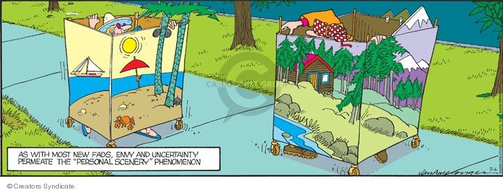 Comic Strip Jerry Van Amerongen  Ballard Street 2008-07-06 look
