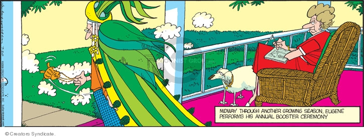 Comic Strip Jerry Van Amerongen  Ballard Street 2008-07-20 gardening