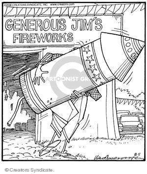 Comic Strip Jerry Van Amerongen  Ballard Street 2008-08-05 day