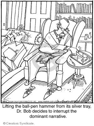 Comic Strip Jerry Van Amerongen  Ballard Street 2008-10-01 therapist