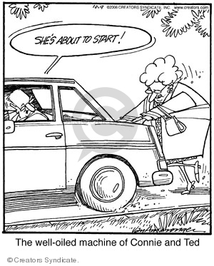Comic Strip Jerry Van Amerongen  Ballard Street 2008-10-09 couple