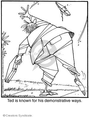 Comic Strip Jerry Van Amerongen  Ballard Street 2008-11-01 van