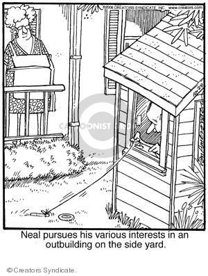 Cartoonist Jerry Van Amerongen  Ballard Street 2008-10-29 hobby