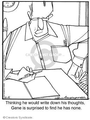 Comic Strip Jerry Van Amerongen  Ballard Street 2008-11-15 writer