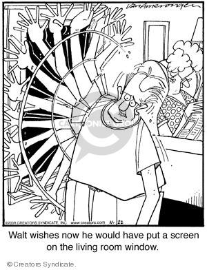 Comic Strip Jerry Van Amerongen  Ballard Street 2008-11-22 home