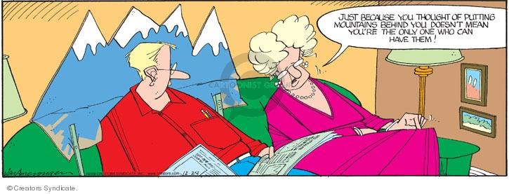 Comic Strip Jerry Van Amerongen  Ballard Street 2008-12-28 spouse