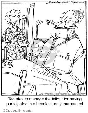 Comic Strip Jerry Van Amerongen  Ballard Street 2009-01-24 have