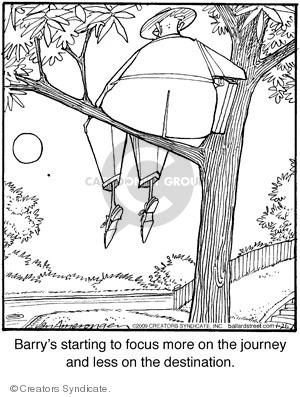 Comic Strip Jerry Van Amerongen  Ballard Street 2009-01-26 focus