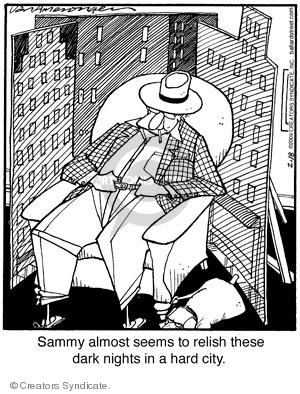 Comic Strip Jerry Van Amerongen  Ballard Street 2009-02-18 pretend