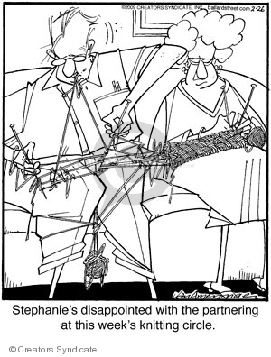 Cartoonist Jerry Van Amerongen  Ballard Street 2009-02-26 hobby