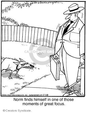 Cartoonist Jerry Van Amerongen  Ballard Street 2009-02-28 norm