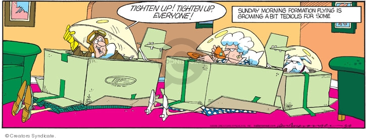Comic Strip Jerry Van Amerongen  Ballard Street 2009-03-08 pretend