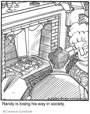 Comic Strip Jerry Van Amerongen  Ballard Street 2009-03-13 party