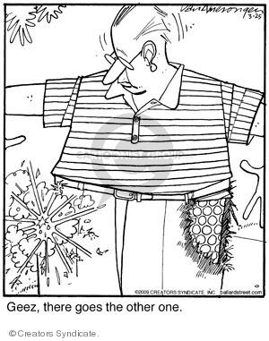 Comic Strip Jerry Van Amerongen  Ballard Street 2009-03-25 one