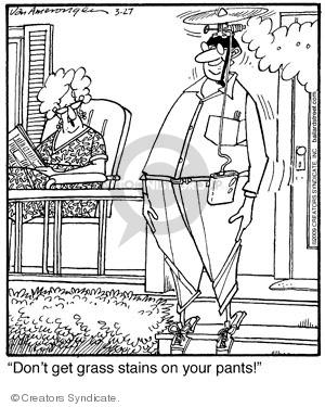Comic Strip Jerry Van Amerongen  Ballard Street 2009-03-27 clothes