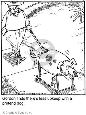 Comic Strip Jerry Van Amerongen  Ballard Street 2009-04-10 ownership