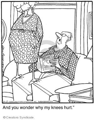 Comic Strip Jerry Van Amerongen  Ballard Street 2009-04-13 couple