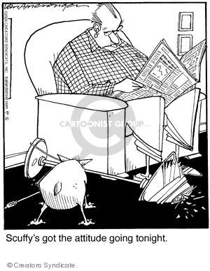 Comic Strip Jerry Van Amerongen  Ballard Street 2009-04-16 scuffy
