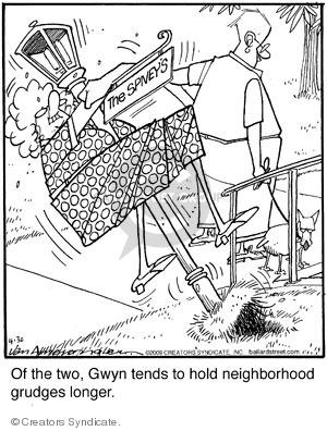 Comic Strip Jerry Van Amerongen  Ballard Street 2009-04-30 street