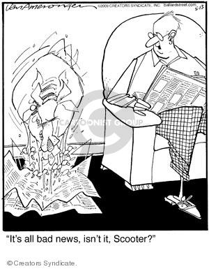 Comic Strip Jerry Van Amerongen  Ballard Street 2009-05-13 behavior
