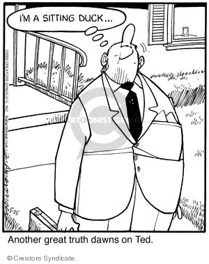 Comic Strip Jerry Van Amerongen  Ballard Street 2009-05-25 truth
