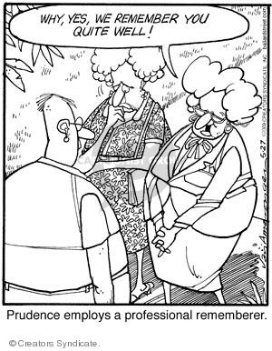 Comic Strip Jerry Van Amerongen  Ballard Street 2009-05-27 quite