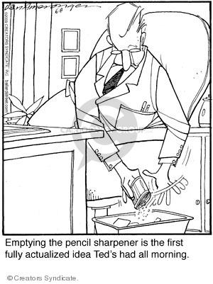 Comic Strip Jerry Van Amerongen  Ballard Street 2009-06-08 psychology