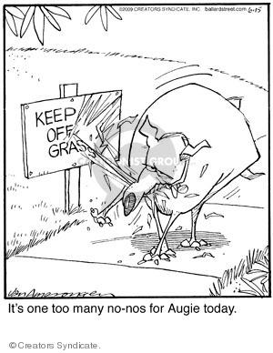 Comic Strip Jerry Van Amerongen  Ballard Street 2009-06-15 behavior