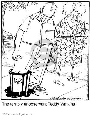 Comic Strip Jerry Van Amerongen  Ballard Street 2009-06-22 teddy