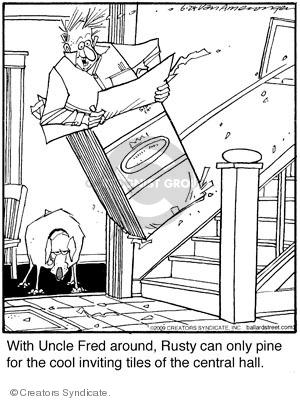 Cartoonist Jerry Van Amerongen  Ballard Street 2009-06-24 hot dog
