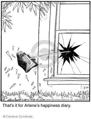 Comic Strip Jerry Van Amerongen  Ballard Street 2009-06-30 Arlene
