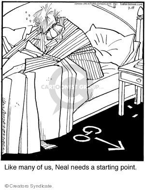 Comic Strip Jerry Van Amerongen  Ballard Street 2009-07-18 awake