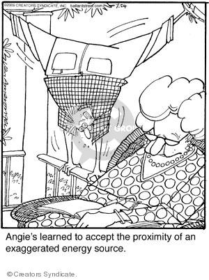 Comic Strip Jerry Van Amerongen  Ballard Street 2009-07-24 closeness