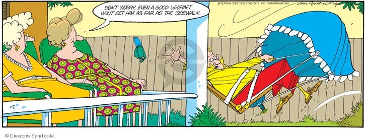 Comic Strip Jerry Van Amerongen  Ballard Street 2009-08-02 win