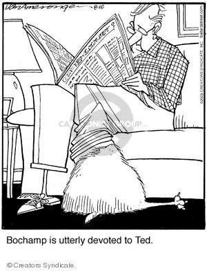 Comic Strip Jerry Van Amerongen  Ballard Street 2009-08-10 closeness